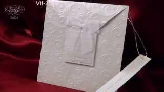 Приглашение на свадьбу родителям А3606
