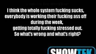 Showtek - FTS (Fuck The System) + Lyrics