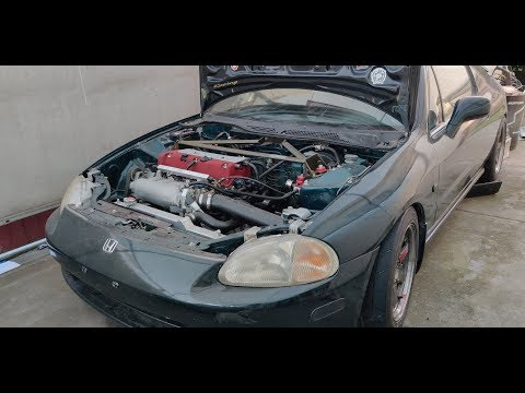 k20A Powered Del Sol - The Ressurection