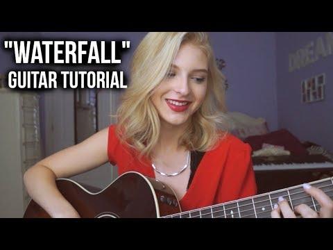 """WATERFALL"" GUITAR TUTORIAL | Caroline Dare"