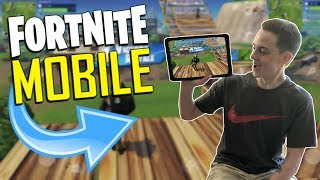 FAST MOBILE BUILDER on iOS / 140+ Wins / Fortnite Mobile + Tips & Tricks!