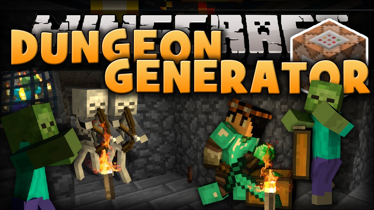 Minecraft Custom Dungeons Loot Spawners Mobs