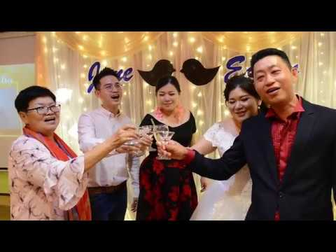 …Edwin and Jane Taiping Dinner Wedding Day Service rent4dress production