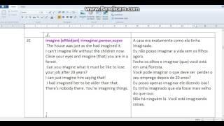 31---3000 palavras mais comum do ingles(frases com significados e audiio)