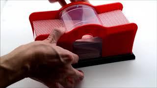 2 Desk Hand Cranked Card Shuffler Manual Hand Crank