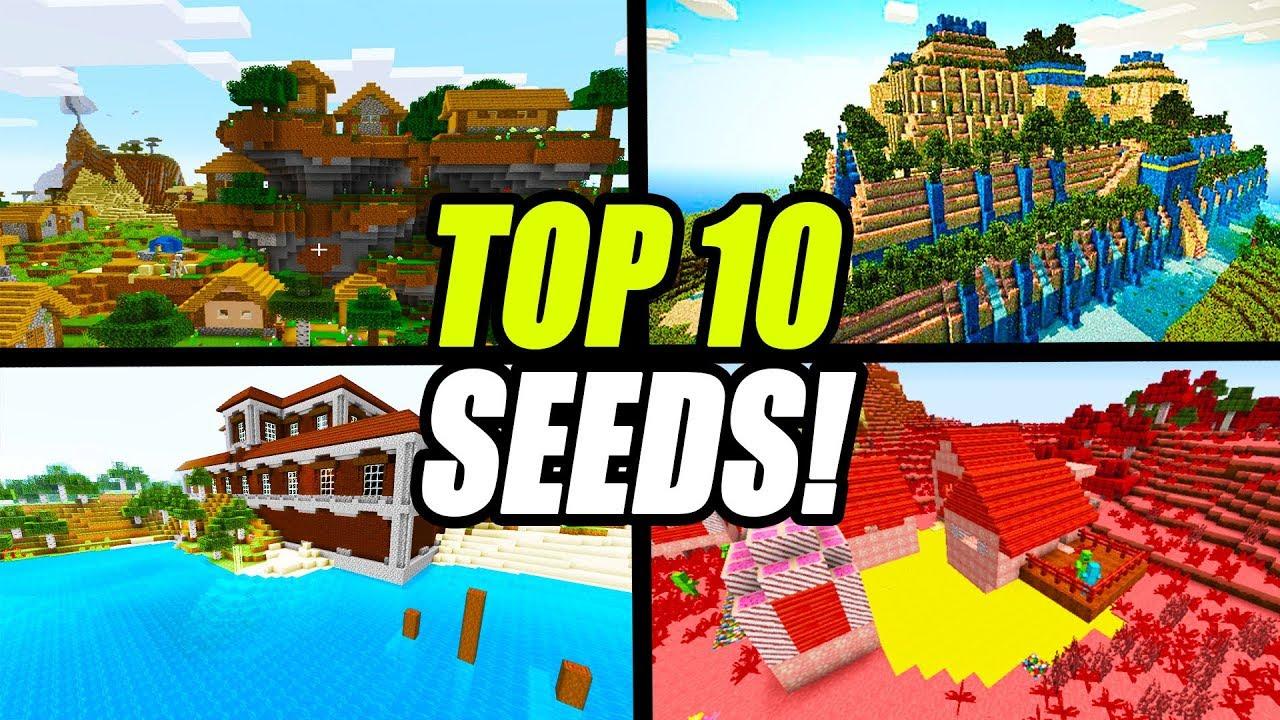 Top 11 Minecraft BEST Seeds (PC JAVA Edition)
