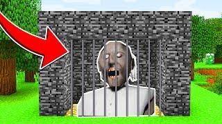 Minecraft : We CAPTURED GRANNY HORROR! (Ps3/Xbox360/PS4/XboxOne/PE/MCPE)