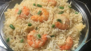How to make delicious fried Rice ||#Fried rice with shrimp ||  Easy and Testy home made fried rice