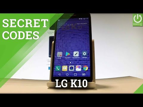 Codes in LG K10 (2017) - Secret Menu / Hidden Options