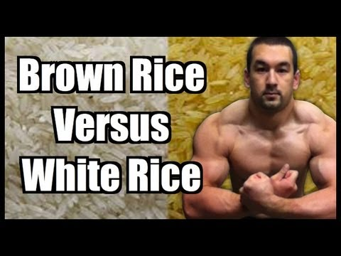 Brown Rice Vs. White Rice?