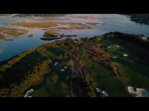 Drone Footage of Bayville Golf Club in Virginia Beach