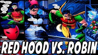 RED HOOD VS. ROBIN (TEEN TITANS) │ Comic History