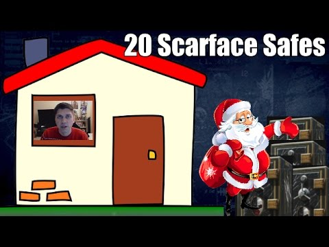 Payday 2 Christmas Special Opening 20 Scarface Safes Plus A