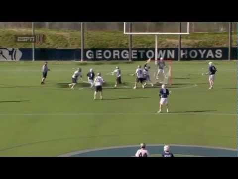 2013 College Lacrosse Midseason Highlights