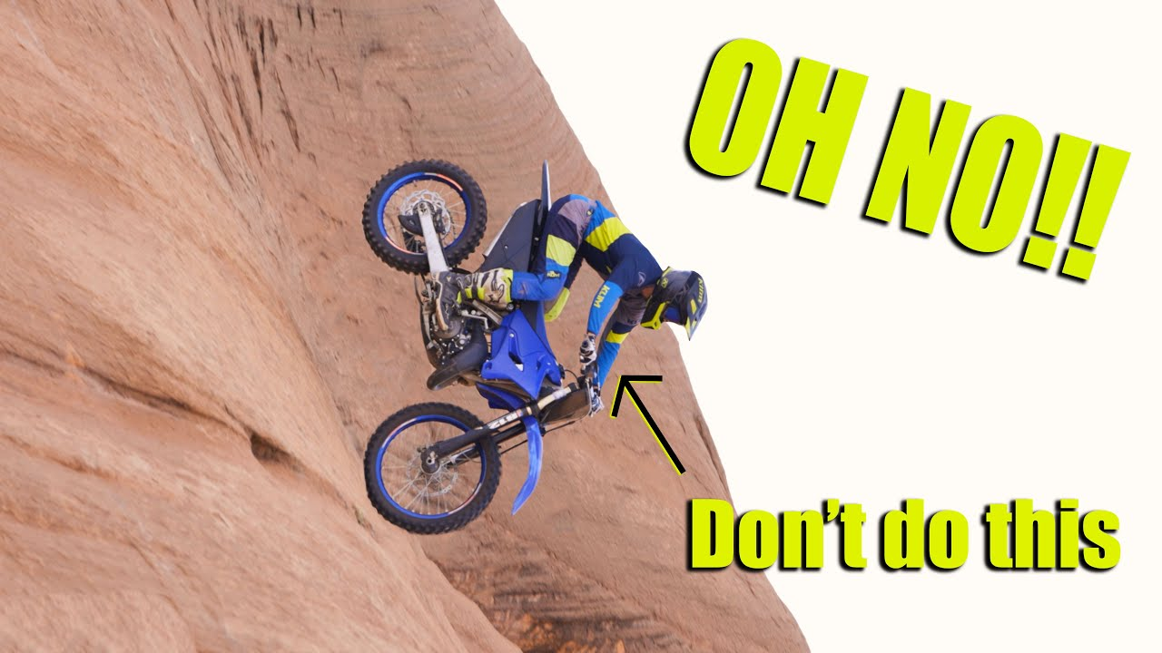 How To Ride Steep Downhills!