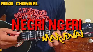 NEGRI NGERI - MARJINAL COVER UKULELE BY RAKA CHANNEL