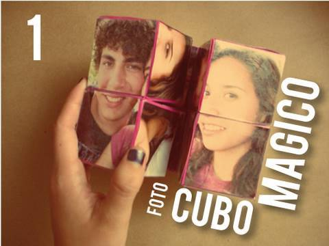 Cubo magico [FACIL] + carta + 10 fotos +...