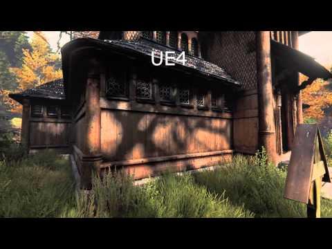 the vanishing of ethan carter Unreal Engine 3 vs 4 (PC)