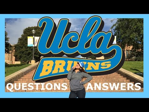 The Secret of getting into UCLA!