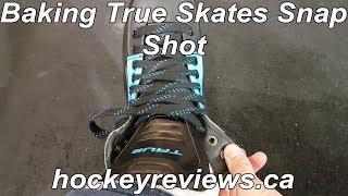 Baking True Hockey Skates