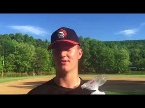 Upper Dauphin pitcher Sam Kerwin says he relied on his curve ball against Susquenita Monday