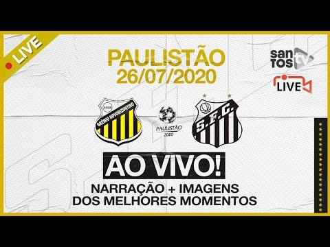 AO VIVO: NOVORIZONTINO 3 x 2 SANTOS | PAULISTÃO (26/07/20)