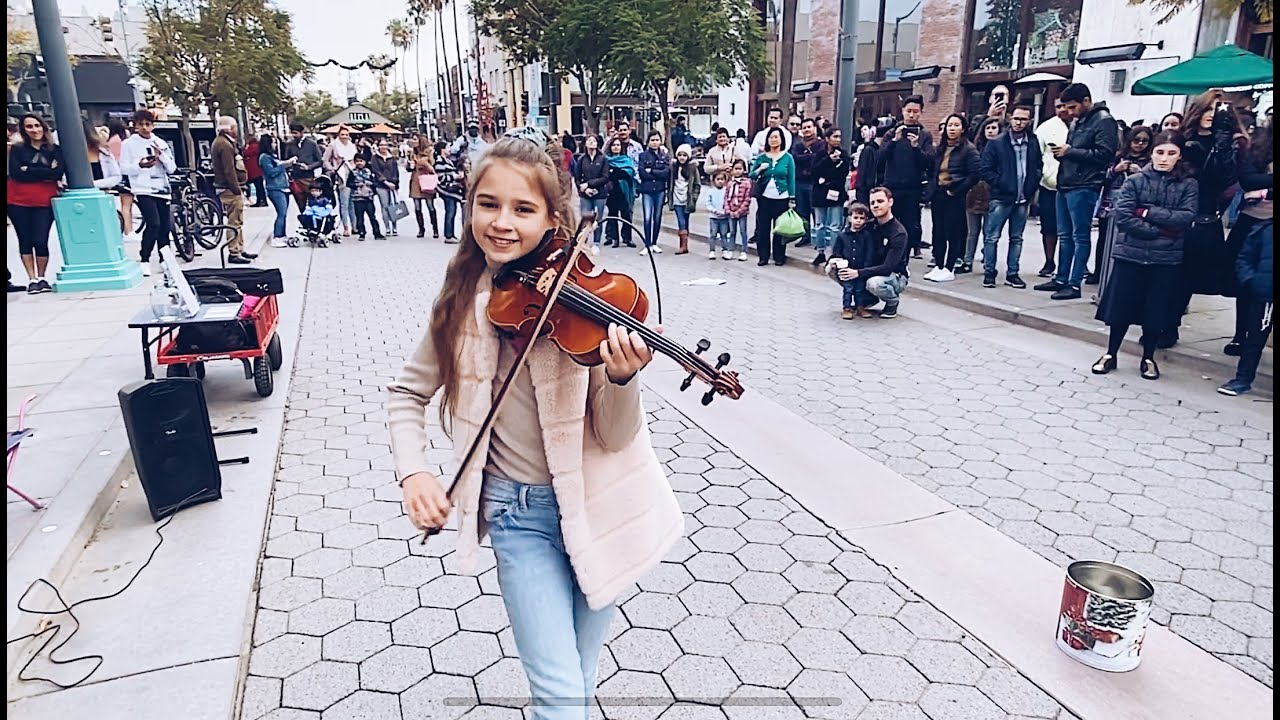 Dance Monkey Tones And I Street Performance Violin Cover Youtube