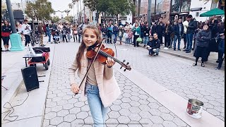 Dance Monkey  Tones and I  Street Performance  Violin Cover