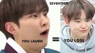SEVENTEEN TRY NOT TO LAUGH