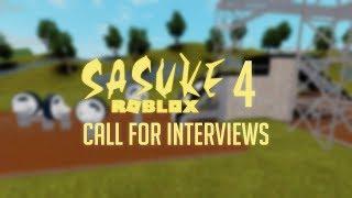 SASUKE Roblox 4: INTERVIEWS ANNOUNCEMENT