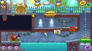 Видео прохождение улитка Боб 7 с 1  по 30 уровень.
