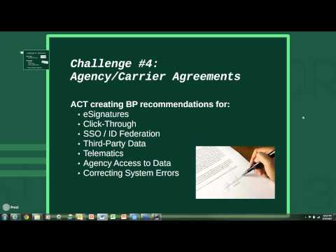 Technology Challenges of California Agents