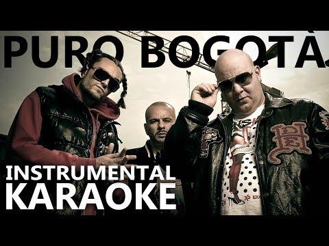 Club Dogo ft. Vincenzo e Marracash: PURO BOGOTÀ (Karaoke - Instrumental)