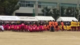 浜松北高校うんどう会閉会式のオープニングアクト2016