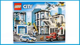 UNBOXING LEGO 60141 City Police Station Construction Toy Speed Build