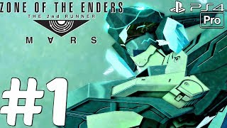 ZONE OF THE ENDERS The 2nd Runner - Gameplay Walkthrough Part 1 - Full Demo (PS4 PRO)