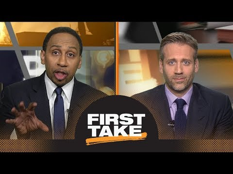 Chris Paul or James Harden: Stephen A. and Max debate who is key to Game 1   First Take   ESPN