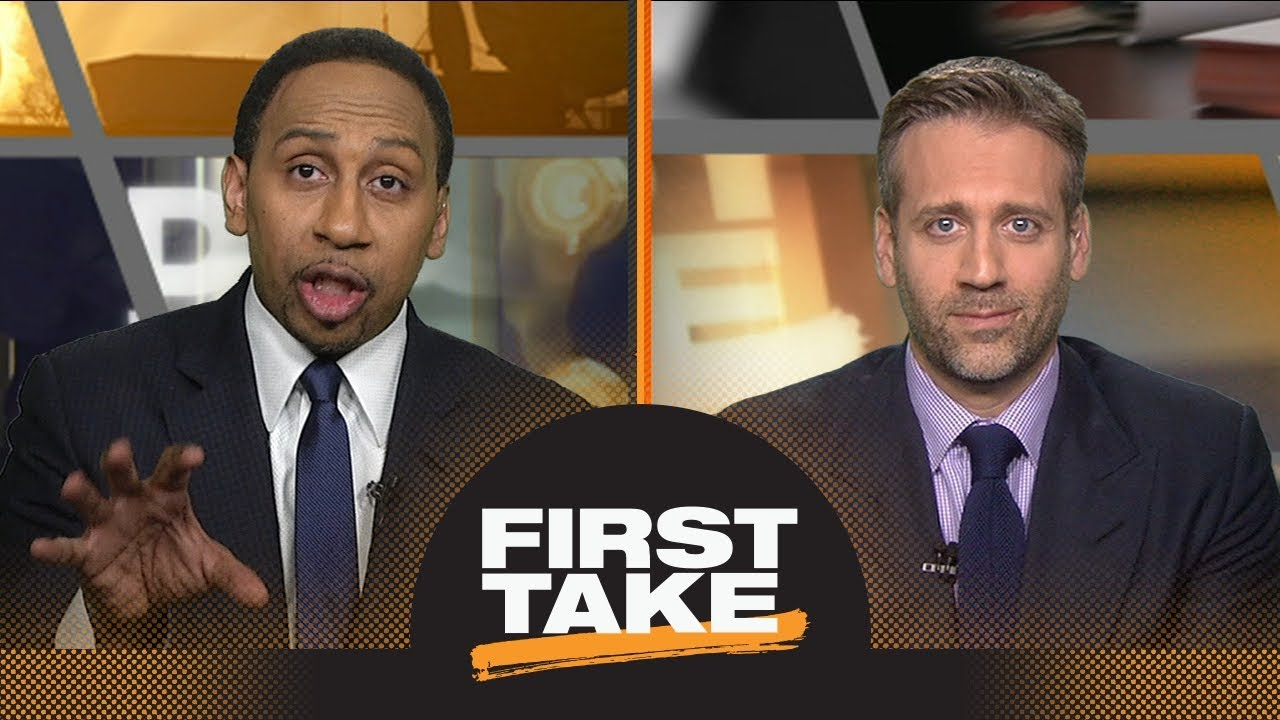 Chris Paul or James Harden: Stephen A. and Max debate who is key to Game 1 | First Take | ESPN
