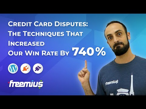 Credit Card Disputes: The Techniques That Increased Our Wins Rate By 740%