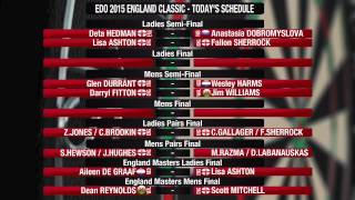2015 EDO England Classic And Matchplay Day 2