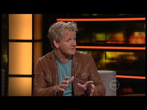 Gordan Ramsay interview on ROVE (Australia) - Hilarious insults exchanged