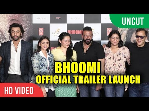 UNCUT - BHOOMI Official Trailer Launch |...