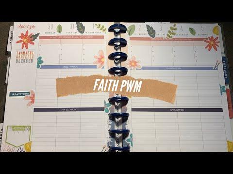 Faith Plan With Me | Faith Happy Planner | December 30,2019 - January 5, 2020