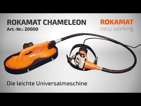 Die leichte Universalmaschine ROKAMAT CHAMELEON