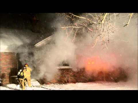 Bowmansville NY FD Structure Fire - 54 Maple Dr
