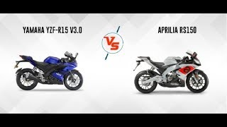 Why Aprilia RS150 can't beat Yamaha R15 V3