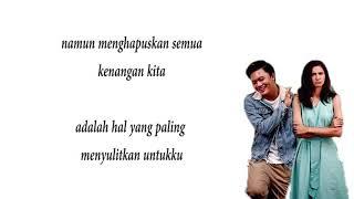Berpisah Itu Mudah - Rizky Febian Feat. Mikha Tambayong (Lirik Lagu)