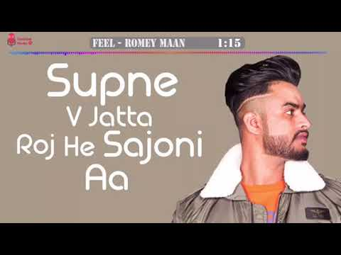 FEEL (Full Song) - Romey Maan ft. Jass Manak | Latest Punjabi Songs 2018 thumbnail
