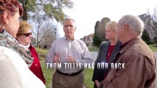 NRA Endorses Thom Tillis for U.S. Senate in North Carolina
