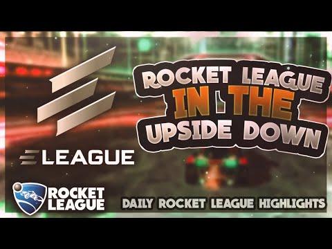 BEST Rocket League Moments: Rocket League in the Upside Down thumbnail
